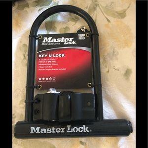 Master bike lock brand new